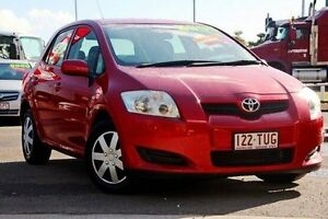 2007 Toyota Corolla ZRE152R Ascent Red 4 Speed Automatic Hatchback Gympie Gympie Area Preview