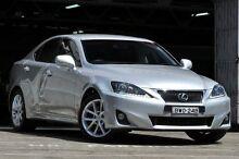 2010 Lexus IS350 GSE21R Prestige Silver 6 Speed Automatic Sedan Mosman Mosman Area Preview