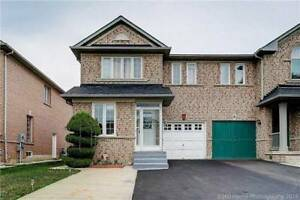 Fully Upgraded Semi Det'd For Sale In The Heart Of Brampton