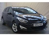 2012 Hyundai i40 1.7 CRDI ACTIVE BLUE DRIVE 5d 114 BHP Diesel black Manual
