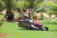Experienced Lawn Cutter / Lawn Mowing $18-21/hr