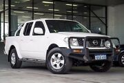 2011 Nissan Navara D40 ST White 6 Speed Manual Utility Myaree Melville Area Preview