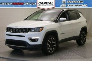 2017 Jeep Compass Limited 4WD*Leather*Nav*Sunroof*