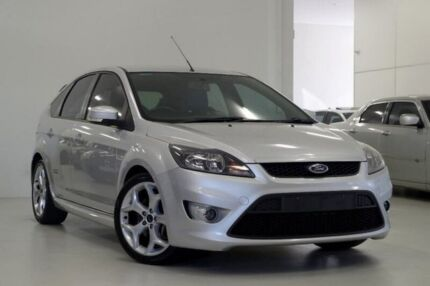 2010 Ford Focus LV XR5 Turbo Silver 6 Speed Manual Hatchback Myaree Melville Area Preview