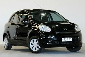 2013 Nissan Micra K13 MY13 ST Black 5 Speed Manual Hatchback Coopers Plains Brisbane South West Preview