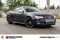 2015 Audi S5 Technik AWD, CONVERTIBLE, NO ACCIDENTS, LOW KM! Vancouver Greater Vancouver Area Preview