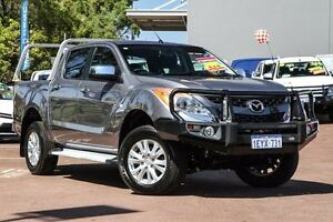 2012 Mazda BT-50 UP0YF1 XTR Grey 6 Speed Sports Automatic Utility Cannington Canning Area Preview
