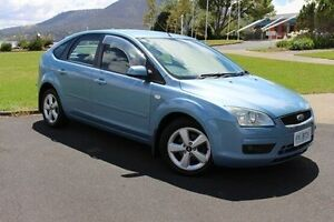 2005 Ford Focus LS Zetec Blue 5 Speed Manual Hatchback Invermay Launceston Area Preview