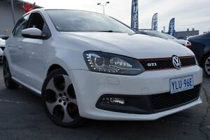 2012 Volkswagen Polo 6R MY13 GTI DSG White 7 Speed Sports Automatic Dual Clutch Hatchback Pearce Woden Valley Preview