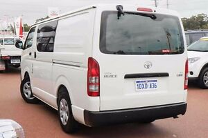 2012 Toyota Hiace TRH201R MY11 LWB White 4 Speed Automatic Van Wangara Wanneroo Area Preview