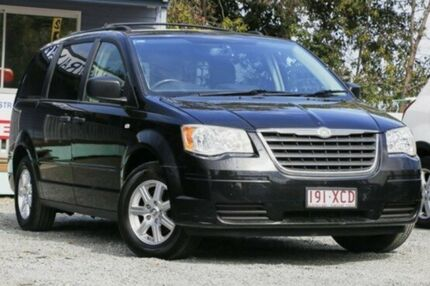 2009 Chrysler Grand Voyager RT 5th Gen MY08 LX Black 6 Speed Automatic Wagon