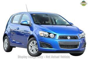 2016 Holden Barina TM MY16 CD Boracay Blue 6 Speed Automatic Hatchback Blacktown Blacktown Area Preview