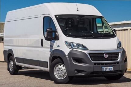 2016 Fiat Ducato Series 4 Mid Roof LWB Comfort-matic White 6 Speed Sports Automatic Single Clutch
