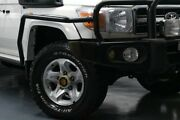 2008 Toyota Landcruiser VDJ79R GXL White 5 Speed Manual Cab Chassis Glendale Lake Macquarie Area Preview