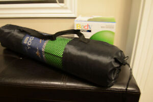 Brand New Yoga Mat and Fitness Ball