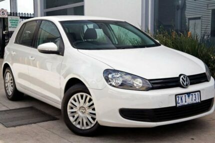 2012 Volkswagen Golf VI MY12.5 77TSI DSG White 7 Speed Sports Automatic Dual Clutch Hatchback Cairnlea Brimbank Area Preview