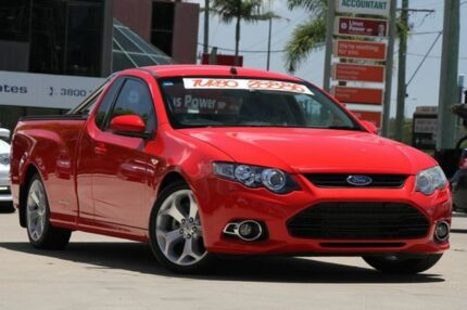 2012 Ford Falcon FG MkII XR6 Ute Super Cab Turbo Red 6 Speed Manual Utility Browns Plains Logan Area Preview
