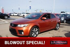 2010 Kia Forte Koup SX COUPE 6 SPEED Accident Free,  Leather,  H