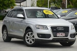 2010 Audi Q5 8R MY10 TFSI S tronic quattro Silver 7 Speed Sports Automatic Dual Clutch Wagon Toowong Brisbane North West Preview