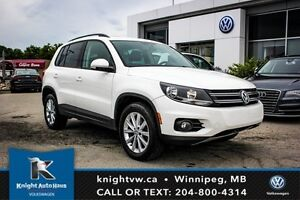 2013 Volkswagen Tiguan AWD w/ Leather/Sunroof/Navigation