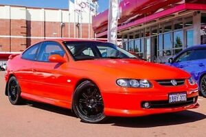 2002 Holden Monaro V2 CV8 Red 4 Speed Automatic Coupe Fremantle Fremantle Area Preview