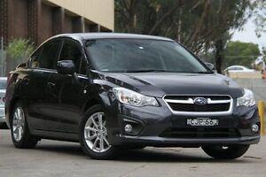 2012 Subaru Impreza MY13 2.0I-L (AWD) Grey Continuous Variable Sedan Petersham Marrickville Area Preview