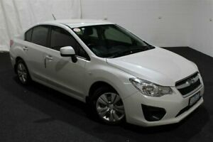 2012 Subaru Impreza G4 MY12 2.0i Lineartronic AWD White 6 Speed Constant Variable Sedan Glenorchy Glenorchy Area Preview