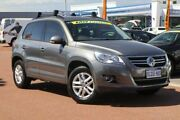 2010 Volkswagen Tiguan 5N MY10 103TDI 4MOTION Grey 6 Speed Sports Automatic Wagon Osborne Park Stirling Area Preview