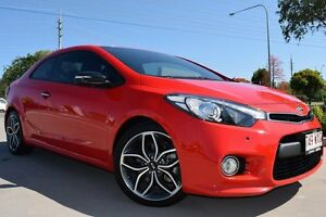 2014 Kia Cerato YD MY14 Koup Turbo Red 6 Speed Sports Automatic Coupe Noosaville Noosa Area Preview