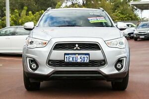 2015 Mitsubishi ASX XB MY15.5 LS 2WD Silver 6 Speed Constant Variable Wagon Cannington Canning Area Preview