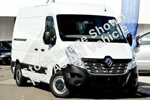 2018 Renault Master X62 Mid Roof MWB AMT White 6 Speed Sports Automatic Single Clutch Van Seaford Frankston Area Preview