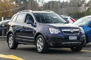 2010 Holden Captiva CG MY10 5 Blue 5 Speed Manual Wagon Ringwood East Maroondah Area Preview