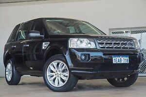 2012 Land Rover Freelander 2 LF MY12 Si6 XS Black 6 Speed Sports Automatic Wagon Embleton Bayswater Area Preview