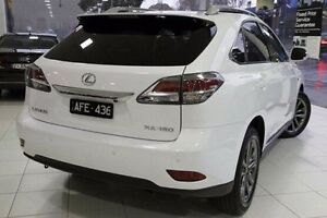 2015 Lexus RX350 GGL15R F Sport White 6 Speed Sports Automatic Wagon North Melbourne Melbourne City Preview