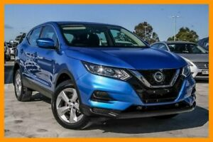 2017 Nissan Qashqai J11 Series 2 ST X-tronic Blue 1 Speed Constant Variable Wagon