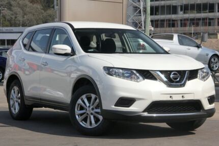 2016 Nissan X-Trail T32 ST (4x4) White Continuous Variable Wagon