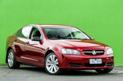 2007 Holden Commodore VE Omega Burgundy 4 Speed Automatic Sedan