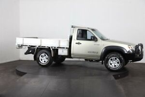 2008 Mazda BT-50 08 Upgrade B3000 DX (4x4) Green 5 Speed Manual Cab Chassis