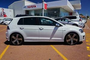 2015 Volkswagen Golf VII MY16 R DSG 4MOTION White 6 Speed Sports Automatic Dual Clutch Hatchback Westminster Stirling Area Preview