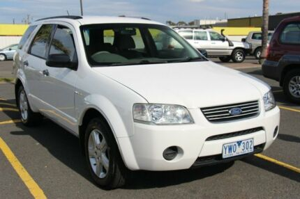 2007 Ford Territory SY TS AWD White 6 Speed Sports Automatic Wagon Cheltenham Kingston Area Preview