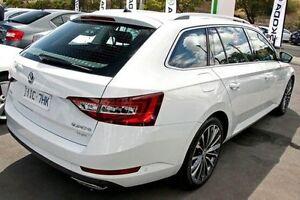 2015 Skoda Superb NP MY16 206TSI DSG White 6 Speed Sports Automatic Dual Clutch Wagon Seaford Frankston Area Preview