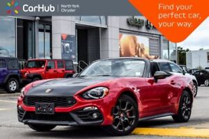 2018 Fiat 124 Spider Abarth|Manual|Visibility,Convi.,Pkgs|LED|Br