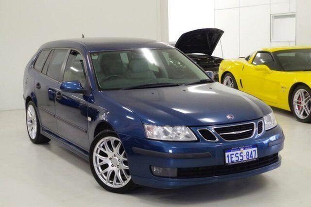2006 Saab 9 3 444 MY2006 Linear SportCombi Blue 6 Speed Sports Automatic Wagon