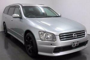 2003 Nissan Stagea NM35 250t Silver Automatic Wagon Cabramatta Fairfield Area Preview