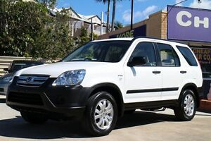 2006 Honda CR-V RD MY2006 4WD White 5 Speed Automatic Wagon Greenslopes Brisbane South West Preview