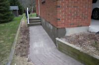 Parging and Concrete Finishing