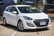 2014 Hyundai i30 GD Active Tourer White 6 Speed Sports Automatic Wagon Morley Bayswater Area Preview