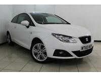2011 60 SEAT IBIZA 1.4 GOOD STUFF 3DR 85 BHP