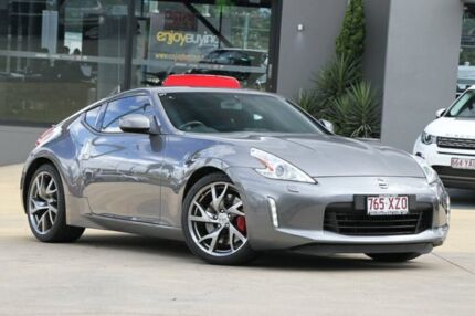 2013 Nissan 370Z Z34 MY13 Grey 6 Speed Manual Coupe Moorooka Brisbane South West Preview