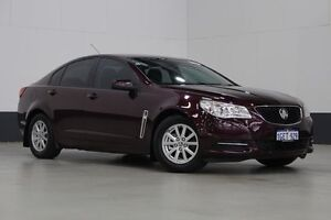 2013 Holden Commodore VF Evoke Maroon 6 Speed Automatic Sedan Bentley Canning Area Preview